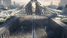 Fantasy City, Fantasy Castle, Fantasy Places, Sci Fi Fantasy, Fantasy World, Concept Art World, Fantasy Concept Art, Fantasy Artwork, League Of Legends