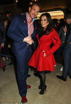New BFF? Also present was Embarrassing Bodies star Dr Christian Jessen, who wore his trade...