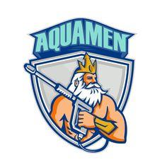 AQUA MEN! Create a unique logo for a Pressure Washing Business. by patrimonio