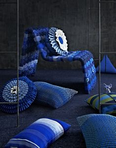 great mix of textures and I love the colours
