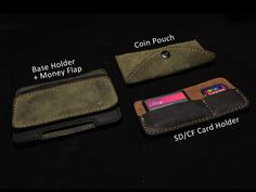 modular wallet.  Create your own configuration!