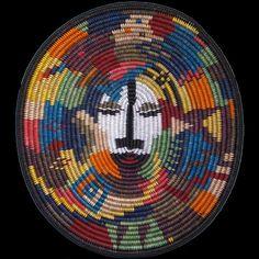 Navajo Eternity Face Basket - Elsie Holiday (#389)