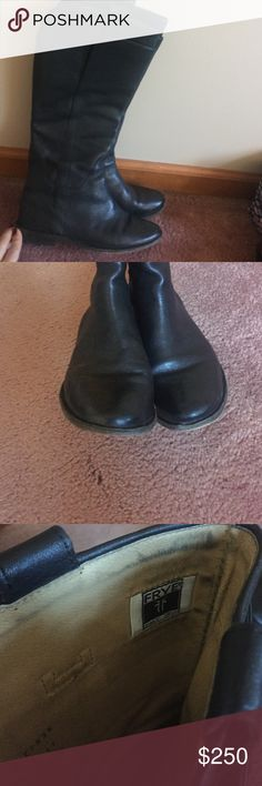📢📢 FLASH SALE Frye Paige Tall Riding Boot- EUC! Beautiful Frye Paige Talk Riding boots. In excellent condition, I only have worn them 3-4 times!! Size 7M! Offers welcome 😊 Frye Shoes