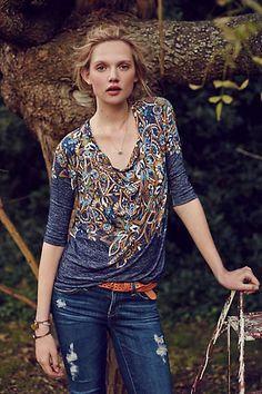 Anthropologie - Jacaranda Top