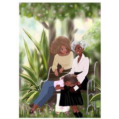Founder of Nicholle Kobi Studios and Nikisgroove Brand. Nicholle is Black French Illustrator mostly know for her Black women 's Art work Nicholle Kobi is also a Visual Artist , Fashion enthusiast , a Speaker. Black Love Art, Black Girl Art, Art Girl, Arte Black, African American Artwork, Natural Hair Art, Black Art Pictures, Black Artwork, Fanart