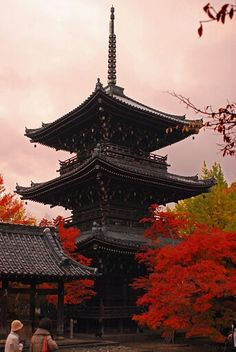 Pagoda and color