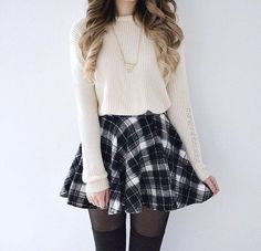 A lot of people have similar pieces in their closet, but this is a really cute and simple outfit I love
