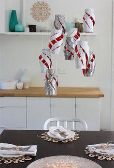 Toilet Paper Roll Lanterns