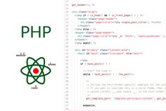 An introductory loop at how PHP code is used in WordPress sites. Server Side Scripting, Coding Languages, Content Area, Php, Wordpress