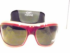 AUTHENTIC GIANFRANCO FERRE  BURGUNDY & MAUVE SUNGLASSES MADE IN ITALY #GianfrancoFERRE #Designer