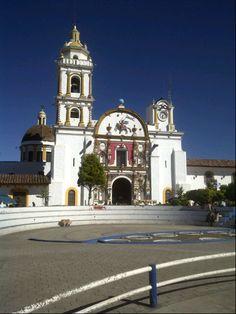 Chignahuapan, Puebla. Parroquia de Santiago apóstol