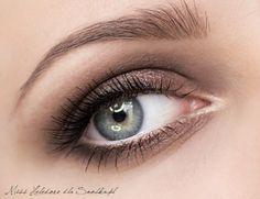 Makijaż dla niebieskich oczu