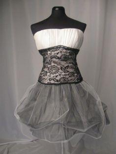 Fekete-fehér tüll és csipke koktélruha, turquoisebijou, meska.hu #tulle #lace #occasional #dress Formal Dresses, Wedding Ideas, Fashion, Moda, Formal Gowns, La Mode, Black Tie Dresses, Fasion, Gowns