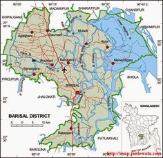 This is the map of Bangladesh Discover Bangladesh Pinterest