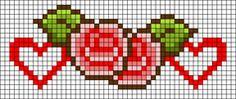 Alpha Friendship Bracelet Pattern #17200