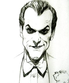 Joker by Alex Ross. I love this. I think Joker world have looked like this in real life.