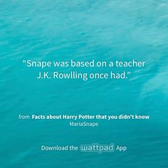 """I'm reading """"Facts about Harry Potter that you didn't know"""" on #Wattpad. http://w.tt/1xdEVRB #shortstory #quote"""