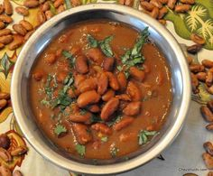 rajma/ kidney beans curry