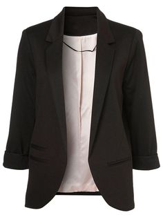 Slim Blazer In Black #clothings #fashionapparel #trend #gift #stylish #sale #style #fashion #Cardigan #apparel #clothing #clothingline #christmas #palysuit #shoes #boot #plimsolls #shippingonline #newarrivals#fashion2016