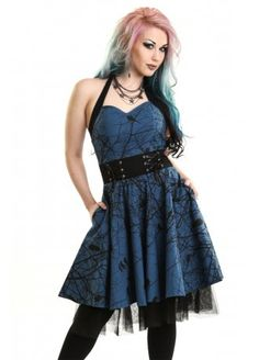 Vixxsin Dark Crow Dress | Attitude Clothing