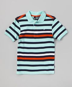 With its classic cut and cotton construction, this polo is a cool and casual wardrobe essential. It will bring a preppy polished look to a little dude's everyday duds for smooth sailing in style and comfort.