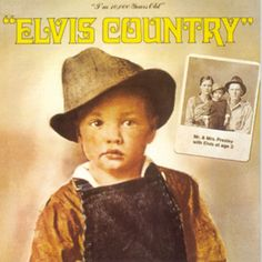 Album cover for Elvis Country