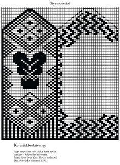 Knitted Mittens Pattern, Knit Mittens, Mitten Gloves, Knitting Charts, Knitting Patterns, Charts And Graphs, Fair Isle Knitting, Knitting Accessories, Filet Crochet
