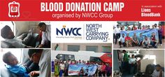 North West Carrying Company Llp (NWCC) recently completed 20 years of its operations in India. Their strong and committed workforce of 800 decided to sanctify this occasion with a noble deed. Lion's Blood Bank (one of the largest and the most modern blood bank) was invited to NWCC office in Gurgaon to put up a camp where the staff of NWCC enthusiastically came forward to donate their blood. #NWCC #BloodDonation