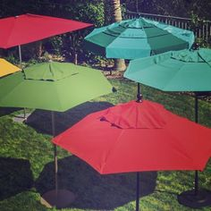 Perfect for rain or shine, our Basta Sole Umbrellas are here to provide protection or shade to you and guests.
