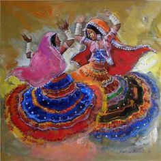 Indian Contemporary Art Dancers