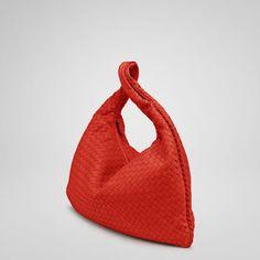 "Buy Bottega Veneta Fire Intrecciato Nappa Large Veneta Dimensions: 20.1"" W x 19.7"" H x 2"" D"