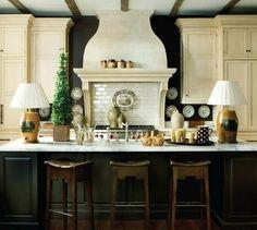 beautiful kitchen, chimney breast  #heirloomheaven