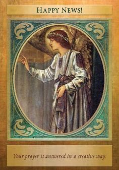 Oracle Card Happy News | Doreen Virtue | official Angel Therapy Web site