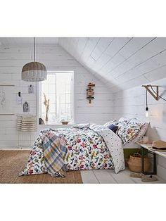 Floral Bedding, Joules, Home Insurance, Duvet Cover Sets, King Size, Cambridge, Pillow Cases, Cottage Bedrooms