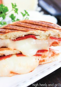 You won't believe how delicious and easy it is to make this pizza panini.