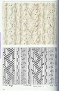 日本棒针花样编织250例(1)--木棉花的日志 - ╰☆開心快樂ㄜ︵的日志 - 网易博客