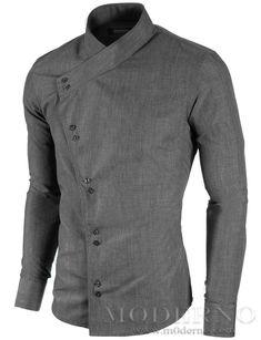 White Trim Banned Gothic Western Hemd Westernhemd Shirt