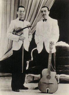 Stephane Grappelli and Django Reinhardt