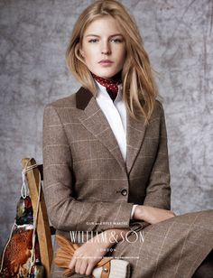 WASPing Through the Countryside: Photo Ladies Appledore collection. The well-bred British look at its best. Preppy Mode, Preppy Style, My Style, British Country Style, British Style Outfits, Countryside Fashion, Estilo Glamour, William And Son, Moda Boho