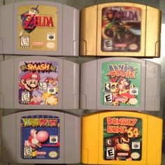 The last of my N64 games. I'm missing a couple games including Super Mario 64 and Banjo-Kazooie.