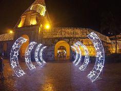 La entrada a esa ciudad amurallada fantástica que jamás olvidarás. ¡Ven y #ViveLaMagia de la #Navidad en #Cartagena!