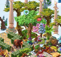 Ice Age Village...... Árbol Damanes 1❤️