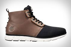Whether you're closing a deal or cleaning up for a date, Timberland Killington Chukka Boots will keep your feet protected and comfortable this Spring. The upper is made from a combo of full-grain leather and mesh, giving the shoe a...
