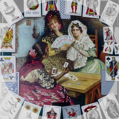 Cartomancy and modern esoteric tarot packs have been conjured in a wide variety of conceptions. Orisha, Free Love Tarot Reading, Free Tarot Cards, Divination Cards, Tarot Meanings, Online Tarot, Fortune Telling, Tarot Spreads, Dibujo