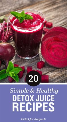 These drinks are so delicious; there is not anything to drop from enjoy them regularly. Top 20 Detox Juice Recipes for Healthy Drinking: ...