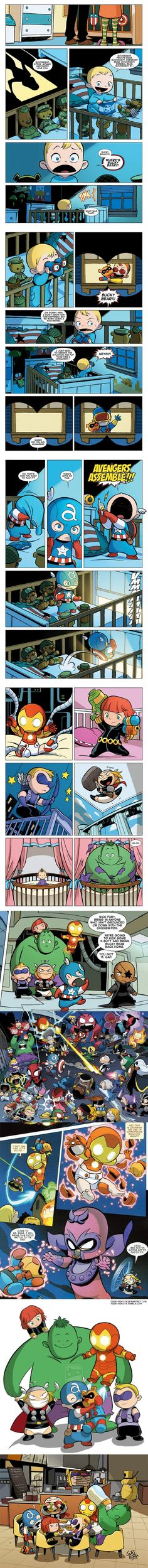 Baby avengers....I think I just died