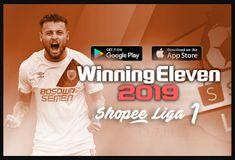 Winning Eleven WE 2012 Mod 2019 Shopee Liga 1 Editions We 2012, Android Mobile Games, Offline Games, Pro Evolution Soccer, Soccer Games, News Games, Goblin, Google Drive, Google Play