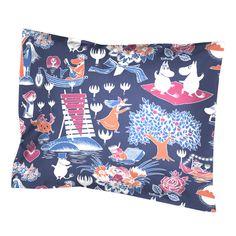 Tämä kaunis ja värikäs tyynyliina on taattua Finlayson- laatua. Finlaysonin vuonna 2014 lanseeraama uutuus.Koko 55 x 65 cm.