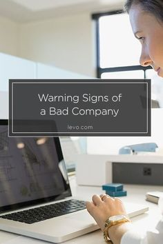 Career infographic : 7 Warning Signs of a Bad Company