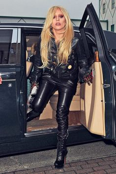 Lady Gaga out and about in London